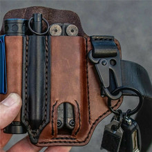 Pocket-Organizer Multitool Key-Holder with for Belt And Flashlight Outdoor Camping Sheath