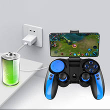 Ipeag Pg-9090 2,4G Bluetooth Turbo Gamepad Wireless Controller Joystick Gamepads Mit Telefon Halter Für Android Ios Pubg Smartpho(China)
