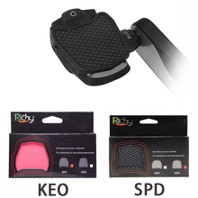Road bike pedales  accessories 2020 Hot Sale bicycle pedal clip spd/keo pedals Cycling SPD and LOOK KEO Systems