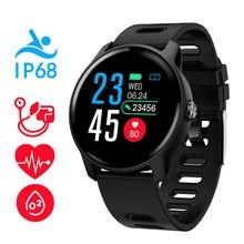 S08 Smart Watch Ip68 Waterproof Heart Rate Monitor smartwatch Bluetooth Smartwatch Activity Fitness tracker Band