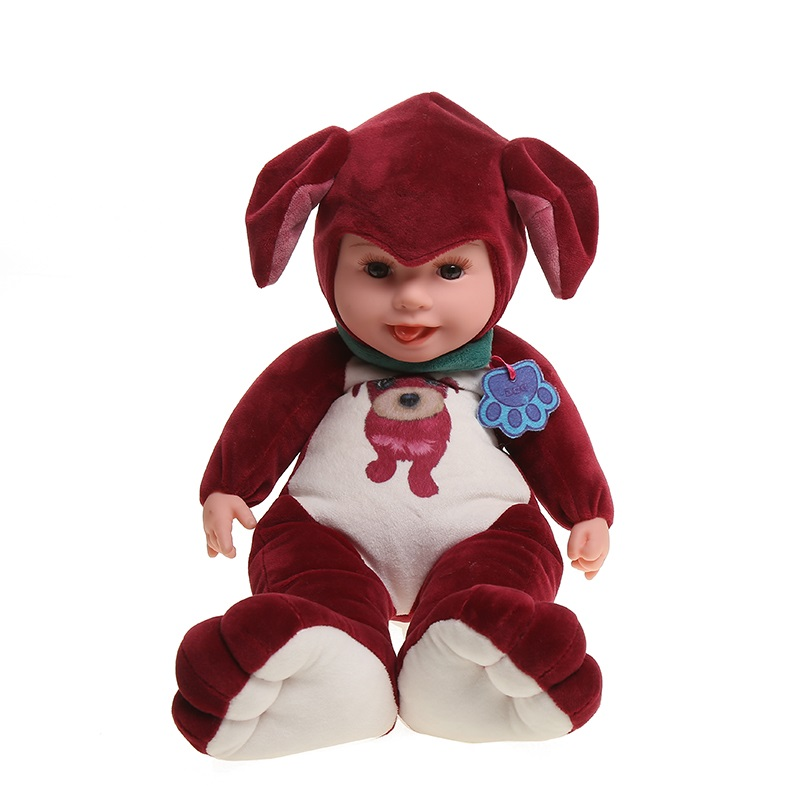 35 cm peluches animaux en peluche Simulation chien en peluche jouet réaliste Animal assis chien poupées doux jouets pour enfants
