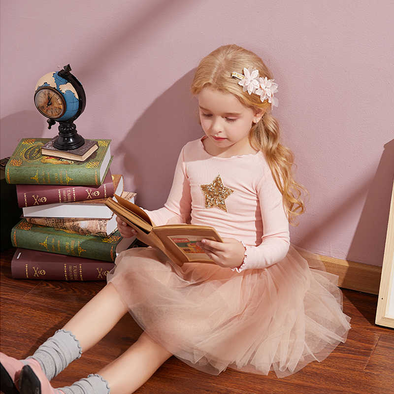 מותג בנות בגדי סופר כוכב עיצוב תינוק בנות שמלת מסיבת שמלה לילדים בנות בגדי טוטו יום הולדת 3-8 שנים Vestidos