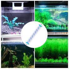 Lampa do akwarium o wysokiej jasności zamiennik LED ultra-cienka wodoodporna roślina wodna rosnąca ekologiczny klip niebieskie białe światło tanie tanio VKTECH CN (pochodzenie) Do umieszczenia w wodzie 7 8 cm 24 w Fish Tank Light light for Fish Tank