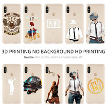 Fashion Lembut TPU Case Cover For Coque Xiaomi Redmi 4X 4A 6A 7A Y3 K20 5 Plus Note 8 7 6 5 Pro Pubg(China)