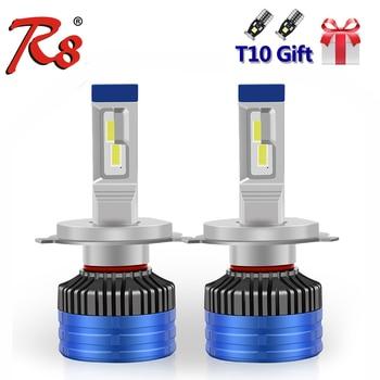 R8 2pcs H4 H7 H1 H11 9005 9006 9012 Car F3 LED Headlight Bulbs 45 Watts 6000 Lumens CANBUS EMC No Error Interference 6500K White