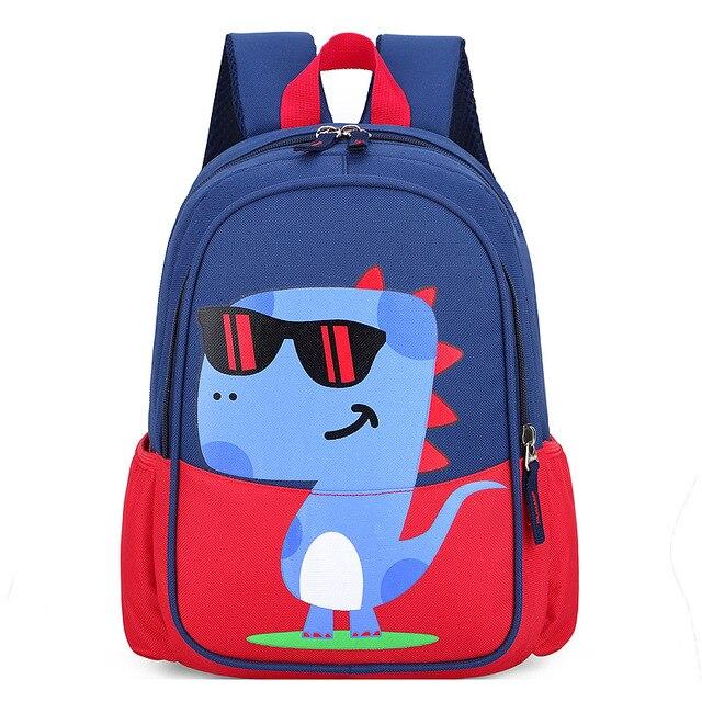 Children Baby Boys Girls Kids Bag Dinosaur Pattern Cartoon Backpack Toddler Animal Children Backpacks School Bags