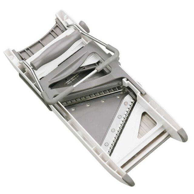 Mandoline Slicer With Adjustable Stainless Steel Blades 2