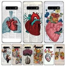 Funda colorida para teléfono Samsung Galaxy S10 S20 Ultra Note 10 9 8 S9 S8 J4 J6 J8 + Lit