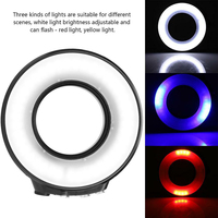 SL 108 Waterproof 40m Led Diving Photography Selfie Electronics USB Charging Ring Flash Light Underwater Lamp For GoPro Cameras