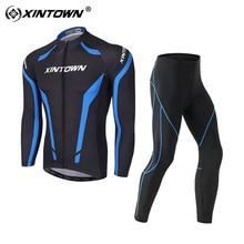 Костюмы для велоспорта возраст сезон Мужская одежда для велоспорта с длинным рукавом Уличная влагопоглощающая пот