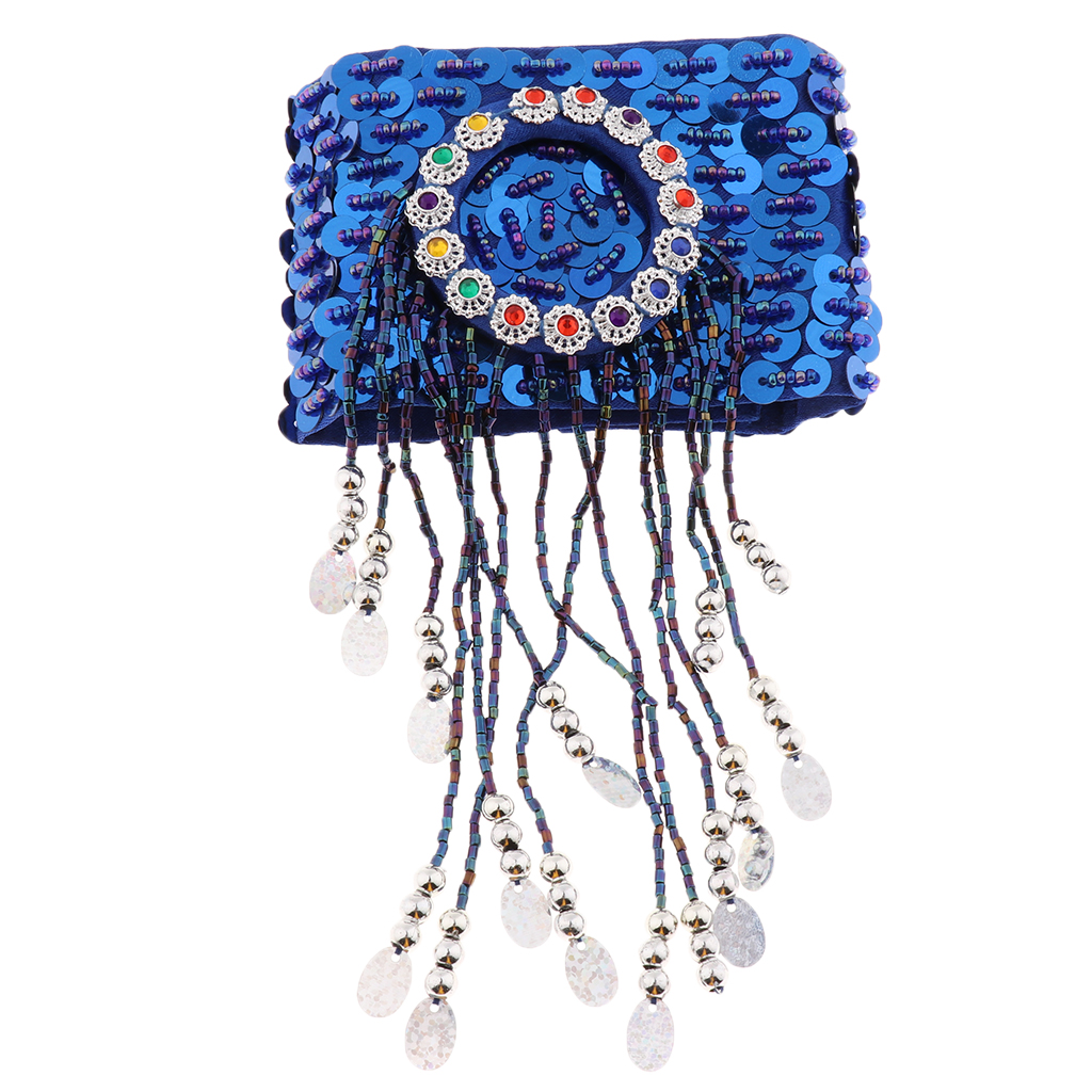 Sequins Belly Dance Bracelet Bead Arm Band Armlet Arm Wear Wristband Bangle
