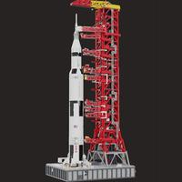 NEW High 3073PCS Space Series Apollo Saturn V Launch Umbilical Tower FOR 21309 Technic Building Blocks Bricks Gifts Kids