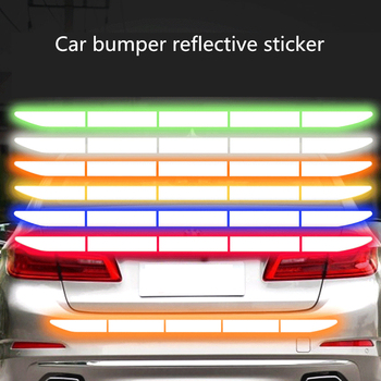 цена на Reflectante Reflector Sticker Car Exterior Accessories Adhesive Reflective Tape Reflex   Exterior Warning Strip Protect Car Body