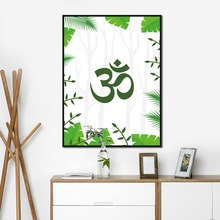 Get more info on the Modern Minimalist Buddha Word Poster Print Letters And Plant Canvas Painting Pictures Home Wall Art Aisle Modern Decoration