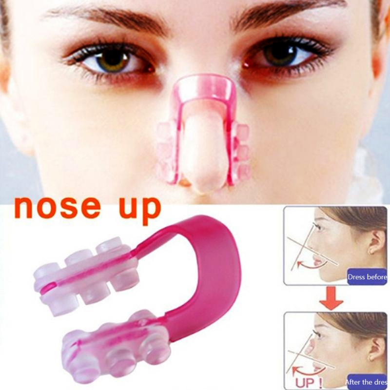 Fashion Nose Up Shaping Shaper Lifting Bridge Straightening Beauty Nose Clip Face Fitness Facial Clipper Corrector Tool