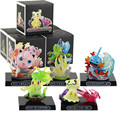 11 см Mimikyu Mudkip Chikorita Treecko Рисунок Аниме Драконий жемчуг фигурку коллекционное аниме игрушки