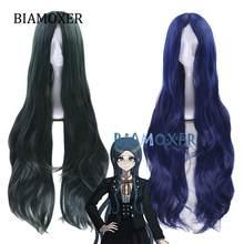 2 style Shirogane Tsumugi peruka z długimi kręconymi włosami Danganronpa V3: zabijanie harmonii przebranie na karnawał Dangan Ronpa żaroodporne włosy
