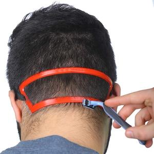 Набор для стрижки бороды, волнистые волосы, декольте, шаблон для бритья, линия для стрижки бороды, инструмент для стрижки волос, набор для ух...