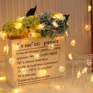 Image 2 - Wedding Decoration EID Mubarak Star Moon Led Lights Strip Decor EID Party Supplies Ramadan Muslim Islam Decor Party Favors,Q