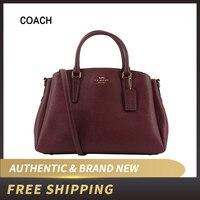Authentic Original & Brand new Coach Crossgrain Leather Sage Carryall Handbag Women's Bag F28976