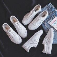 Sapatos mulher nova moda casual alta plataforma de couro do plutônio feminino casual branco sapatos de plataforma respirável tênis sapatos femininos