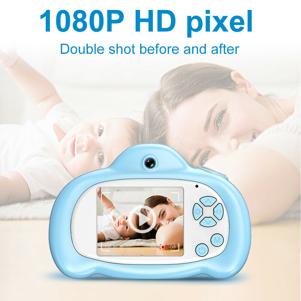 Lightweight Video Mini Toy 1080P HD Portable Educational Children Digital Camcorder 2inch Screen Cute Kids Camera Birthday Gift