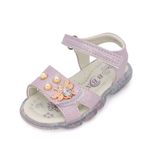 Princess sandals with bees, girls' sandals with lights, stylish and comfortable girls' sandals in 2020 stylish women s sandals with flowers and black colour design