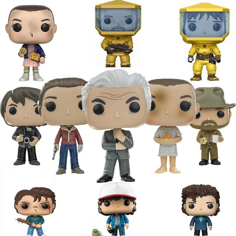 FUNKO POP  GODZILLA Stranger Things Action Figure Toys Collection Model Toys For Kid Birthday Gift