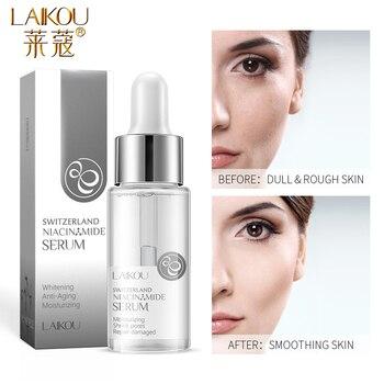 LAIKOU Nicotinamide Serum Whitening Face Serum Ampoule Essence Moisturizing Anti-Aging Anti-Wrinkle Shrink Pores Skin Care Serum недорого