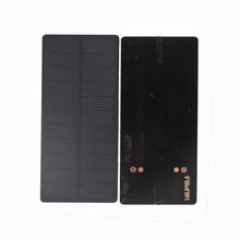 Panel słoneczny 5V 1 5W PET monokrystaliczny moduł diy akumulator do panelu słonecznego na bateria do zabawek bateria słoneczna ładowarka do telefonu komórkowego przenośna tanie tanio ALLKANG 148 9*65 6mm Monokryształów krzemu