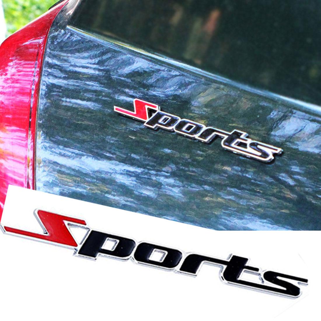 New Metal Sport Emblem Car Badge Decal Sticker