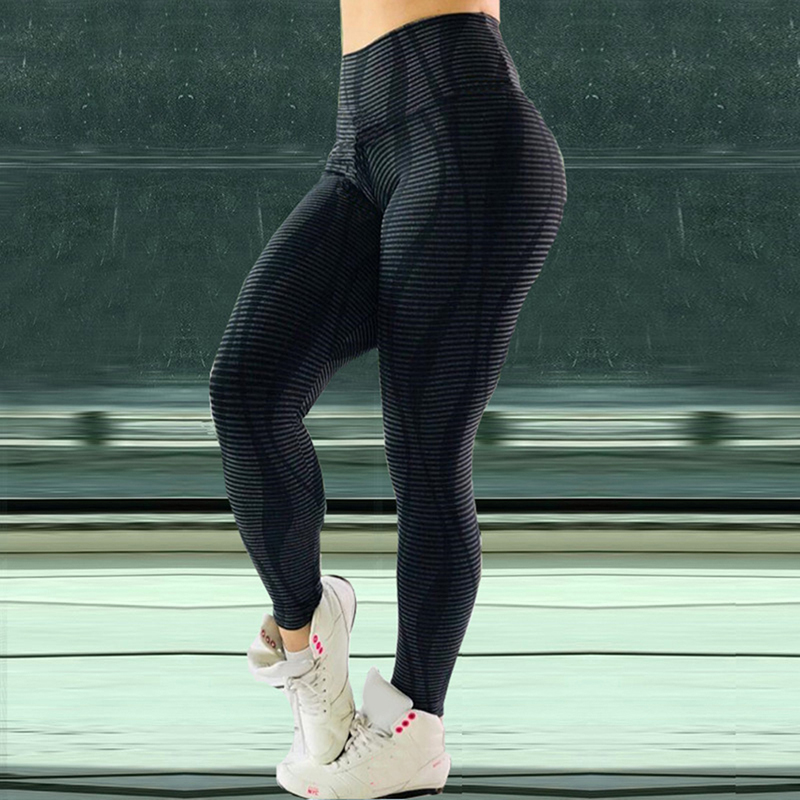 3D High Waist Leggings Women Workout Breathable Fitness Clothing Training Pants Female Leggings
