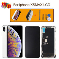 iPhone LCD TFT OLED Assembly For iphone xsmax LCD Display with 3D Touch No dead angle, HD screen tools + gifts