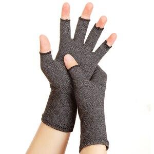 Image 3 - WorthWhile 1 คู่ถุงมือข้ออักเสบสายรัดข้อมือผ้าฝ้ายบรรเทาอาการปวดร่วมมือรั้งผู้หญิงผู้ชาย Therapy สายรัดข้อมือ