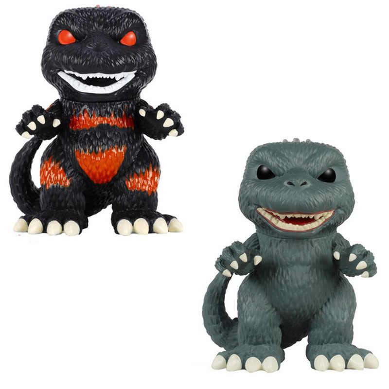 Funko pop godzilla coisas estranhas figura de ação brinquedos coleção modelo brinquedos para o presente aniversário do miúdo