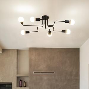 Image 5 - 現代のledシーリングシャンデリア照明リビングルームベッドルームシャンデリアクリエイティブホーム照明器具送料無料