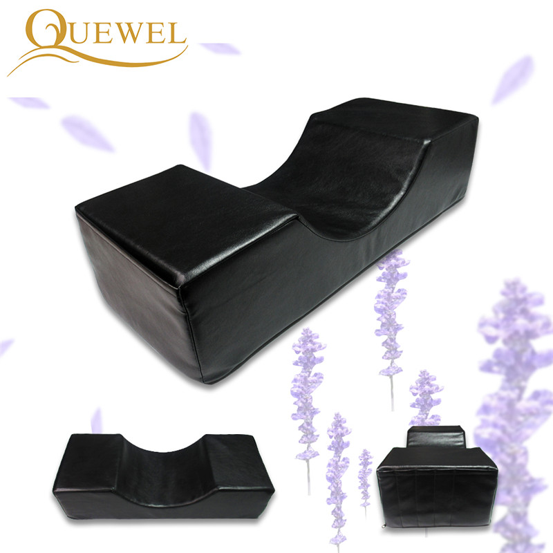Eyelash Extension Pillow Professional Lash Pillow Stand Grafting Eyebrows and Eyelashes Salon Use Memory Leather and