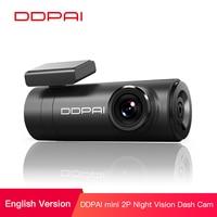 DDPai Mini2P Car DVR Distortionless 2K Ultra HD 1440P Car Dash Camera Wide Dynamic Range 140° Wide Angle Lens G Sensor WiFi