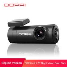 Ddpai Mini2s Auto Dvr Vervormingvrije 2K Ultra Hd 1440P Auto Dash Camera Wide Dynamic Range 140 ° Brede hoek Lens G Sensor Wifi