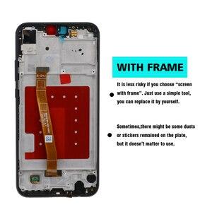 Image 3 - 100% oryginalny 5.84 2280*1080 LCD z ramą dla HUAWEI P20 Lite wyświetlacz LCD ekranu dla HUAWEI P20 lite ANE LX1 ANE LX3 Nova 3e