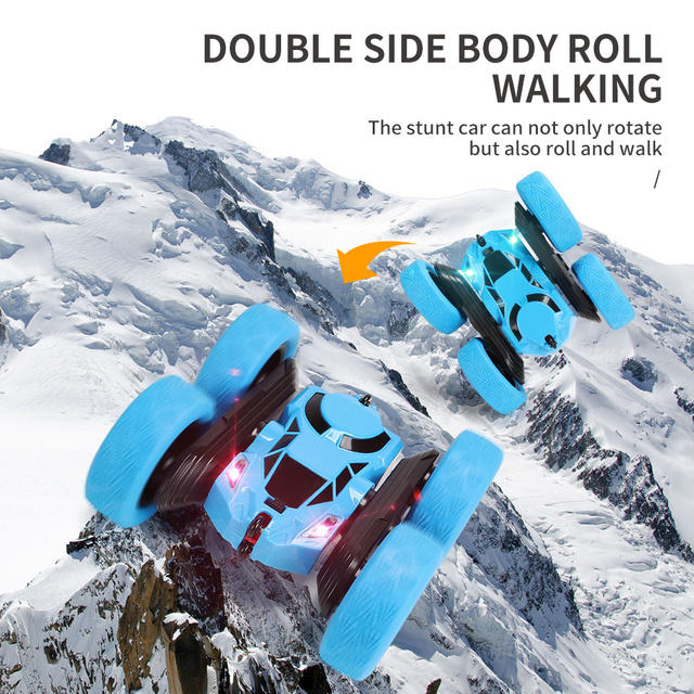360 Degree Roll Double Sided Stunt Car 4