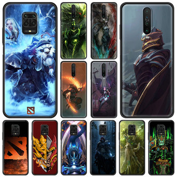 Dota 2 Game Phone Case for Xiaomi Redmi Note 9S 8 8T 9 Pro 6 7 K30 Pro 6A 7A 8A 9A 9C Silicon Black Shell Cover 1