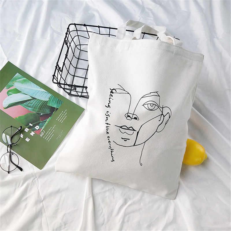 ต้นฉบับเกาหลีวิทยาลัยลม Sail ผ้ากระเป๋า JOKER พิมพ์เดี่ยวไหล่กระเป๋าถุงช้อปปิ้งที่เป็นมิตรกับสิ่งแวดล้อมผู้ผลิต