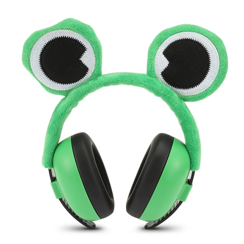Baby Noise Earmuffs For Children Baby Soundproof Ears Baby Kids Anti Noise Earmuffs Headset Hearing Protection Ear Defenders-Fro