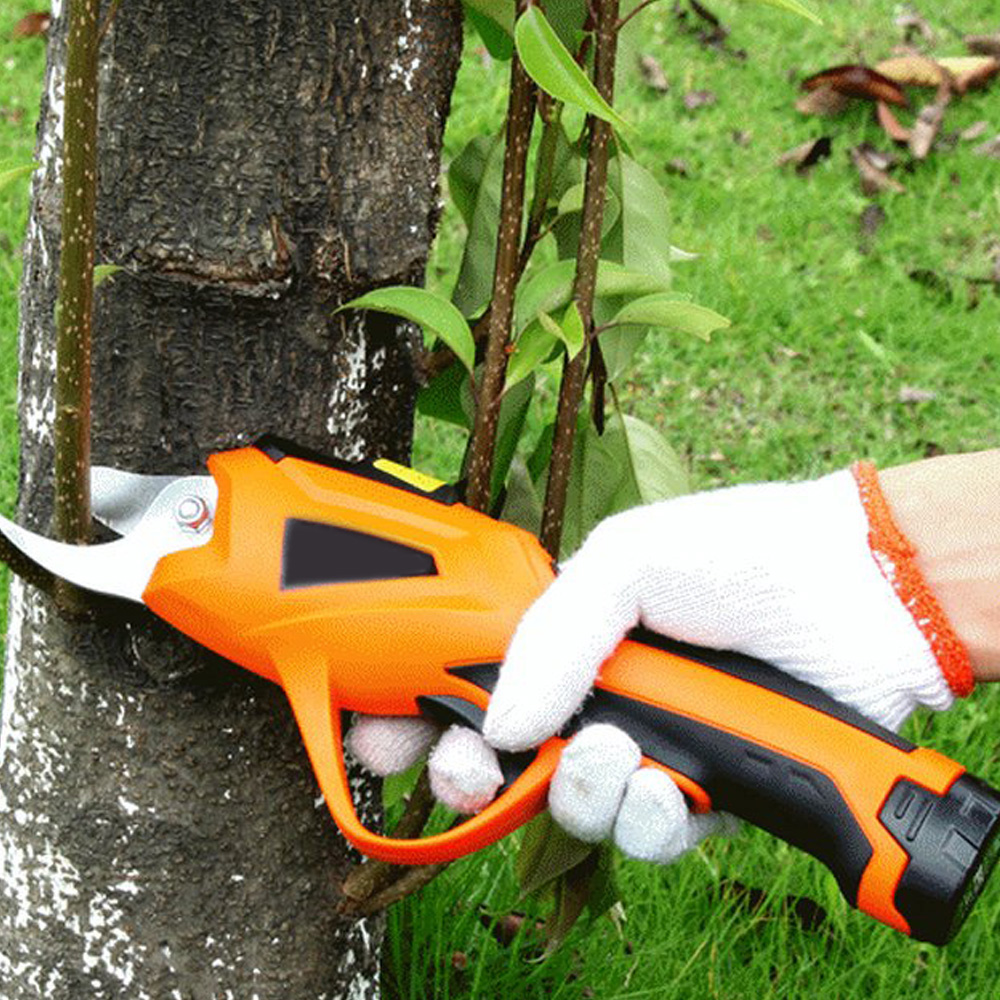 3.6V Battery Electric Pruning Shears Cordless Orchard Branches Cutter Cutting Tools Electric Pruner Scissor Garden Pruning Tools