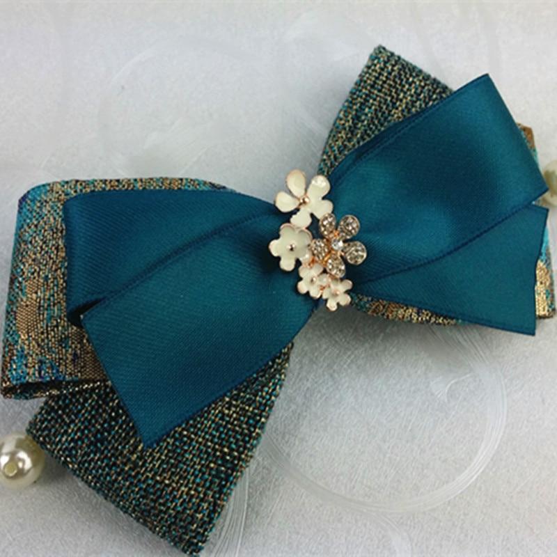 Hairpin Peacock Blue Butterfly Hair Clip Series
