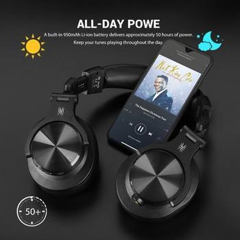 Oneodio Fusion A70 Bluetooth Headphones Stereo Over Ear Wireless Headset Professional Recording Studio Monitor DJ Headphones 3