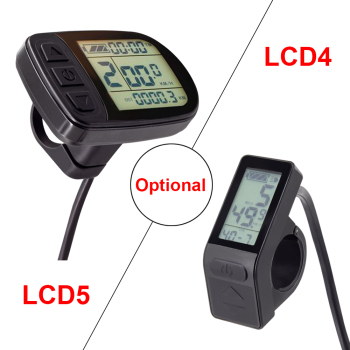 цена на Kunteng Electric Bike Display Waterproof or SM Connector KT LCD5 LCD4 Display Ebike Parts for E Bike KT controller 36V 48V