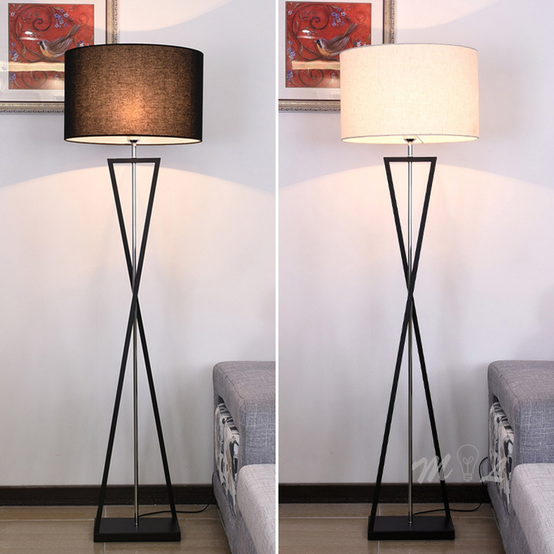 Nordic Modern Standing Lamp Living Room Art Deco Floor Lamp E27 Led Bedroom Light Fixtures Night Lamp Beside Lamp Stand Light