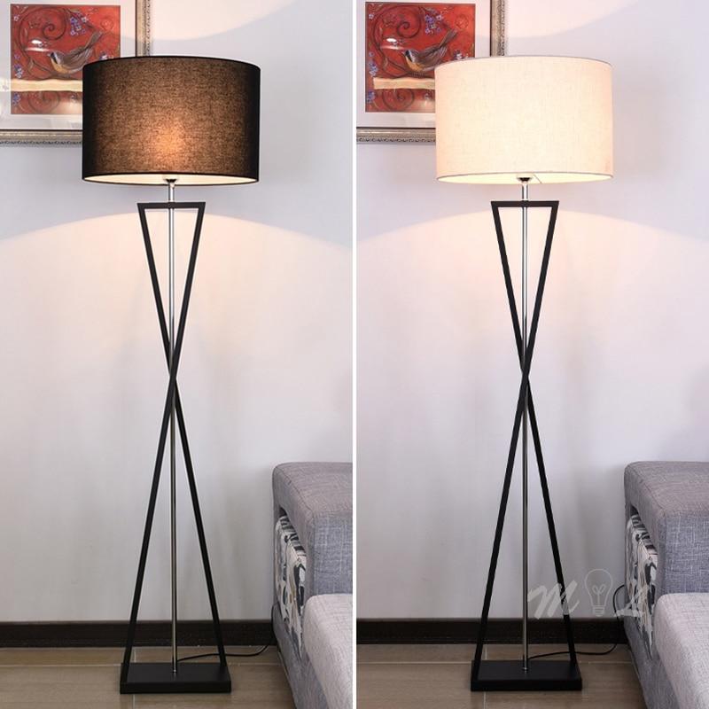 Nordic Modern Standing Lamp Living Room Art Deco Floor Lamp E27 Led Bedroom Light Fixtures Night Lamp Beside Lamp Stand Light